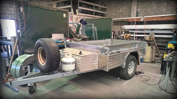 TRAILER PLANS - Ray's Off Road Camper Trailer - built with our plans - www.trailerplans.com.au