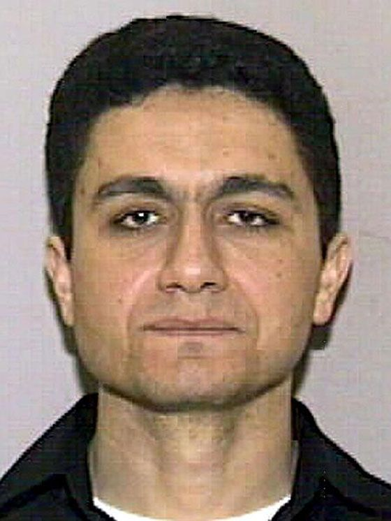 "Face of ""Evil""....A Florida DMV photo of Mohamed Atta, who drove the first plane into the north tower, was released the day after the attacks."