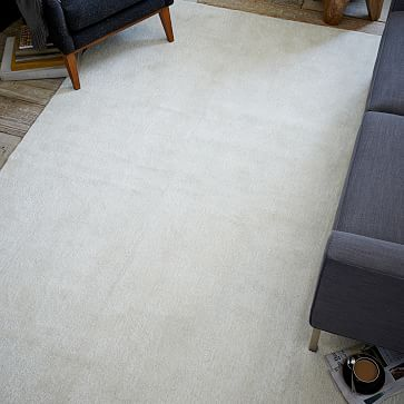 Watercolor Solid Rug - Ivory watercolor solid ivory WEST ELM reg. price $999 Special $799
