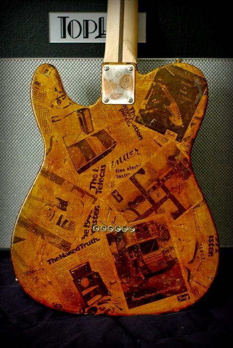 Creative Guitar Finish Ideas Beautiful Guitar Finishes