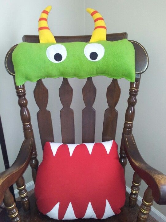 Classroom Theme Ideas For Teachers ~ Monster rocking chair cushions room idea s pinterest