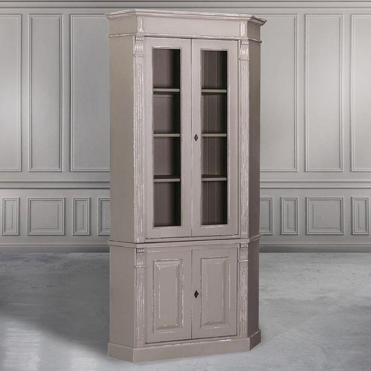 Угловой шкаф-витрина GRAND COLLECTION - Книжные шкафы, витрины, библиотеки - Гостиная и кабинет - Мебель по комнатам My Little France