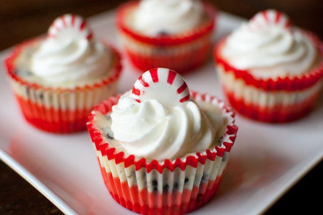 Peppermint oreo cheesecake cupcake, second Christmas dessert idea...already?!