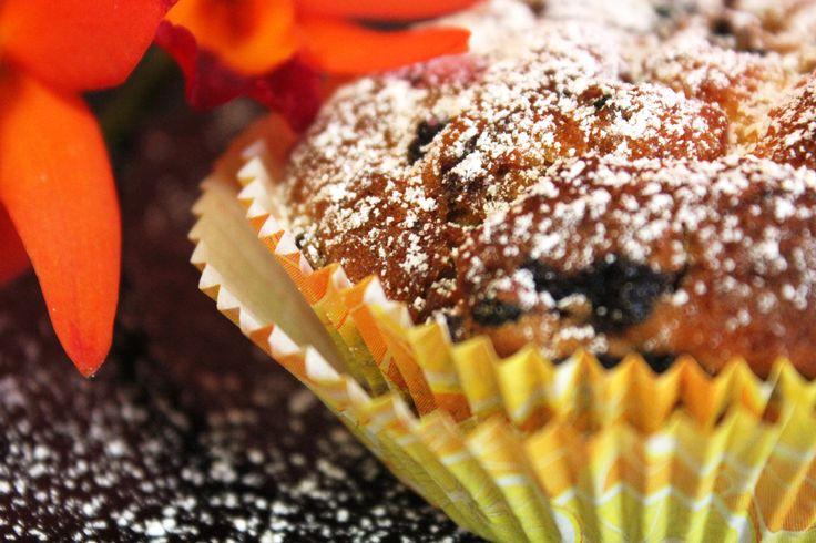 Blaubeermuffins mehr unter www.kuchenkindundkegel.de