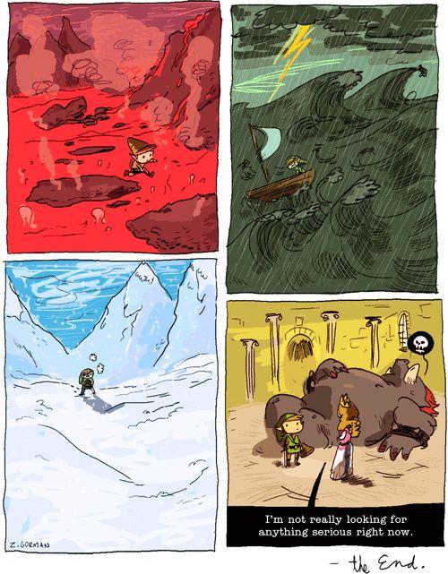 Zac Gorman: Zelda