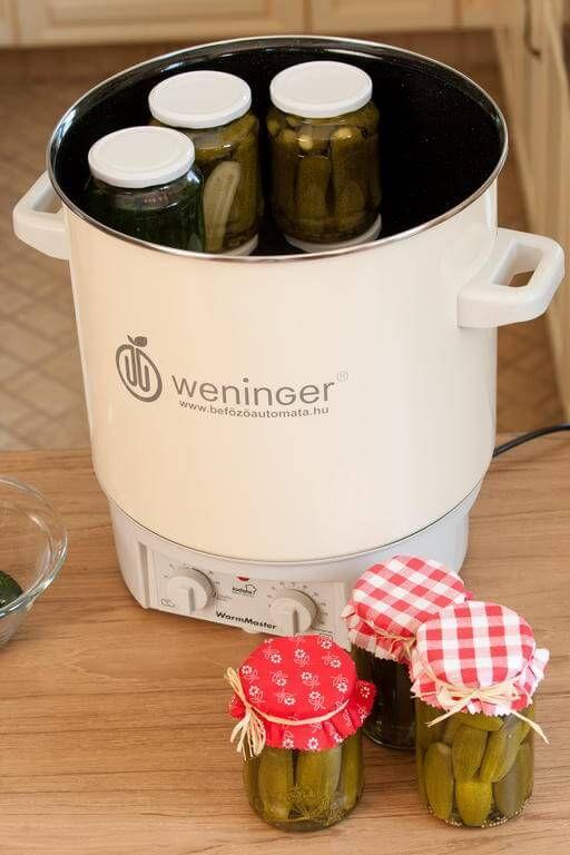Csemege uborka | Weninger Befőzőautomata | tartósítószer-mentes befőzés