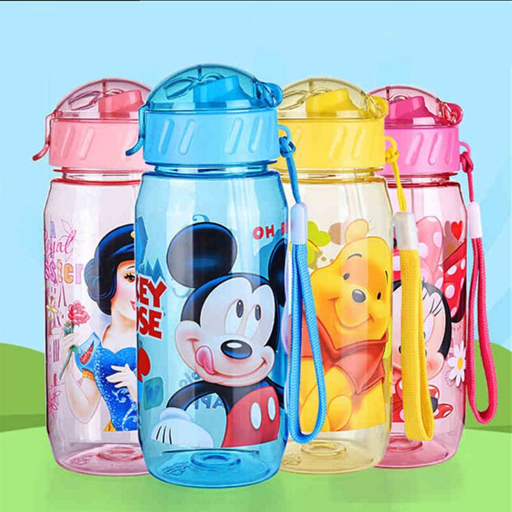Momy And Angel Non-spillable mug bottle with a straw Drinking Bottle Folding Straw Child Cup Sipper Bottle Feeding For Children