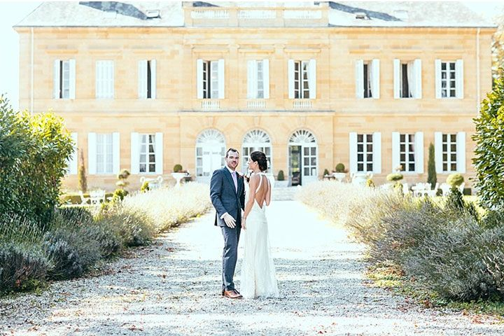bride and groom,france destination wedding,elegant wedding,elegant vintage wedding. Read more Destination wedding france chateau http://www.itakeyou.co.uk/wedding/destination-wedding-france-chateau-jay-rowden/: