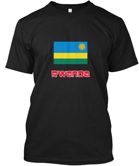 Rwanda Flag Retro Red Design Black T-Shirt Front - This is the perfect gift for someone who loves Rwanda. Thank you for visiting my page (Related terms: I Heart Rwanda,Rwanda,Rwandan,Rwanda Travel,I Love My Country,Rwanda Flag, Rwanda Map,Rwanda Languag #Rwanda, #Rwandashirts...)