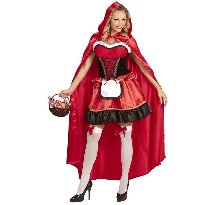 Disfraz de caperucita roja talla grande para mujer