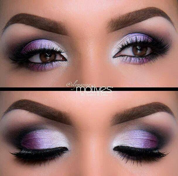 Eye makeup blending color advice