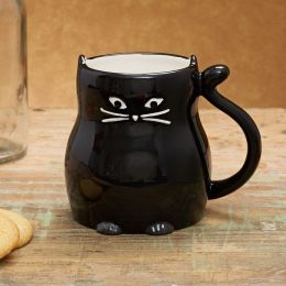 Black Cat Boxed Mug $7.66  I totally have this, and it is great. Won't fit under the !&@#^ coffee machine at work, though.