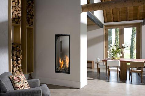 vertikaler gaskamin fireplaces kamin co pinterest chimeneas de gas chimeneas und. Black Bedroom Furniture Sets. Home Design Ideas