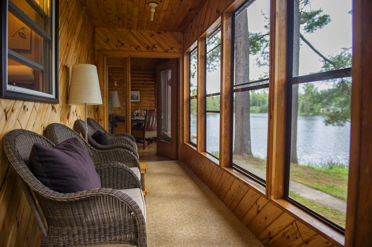The screened in porch - perfect for reading, conversation or just sitting...