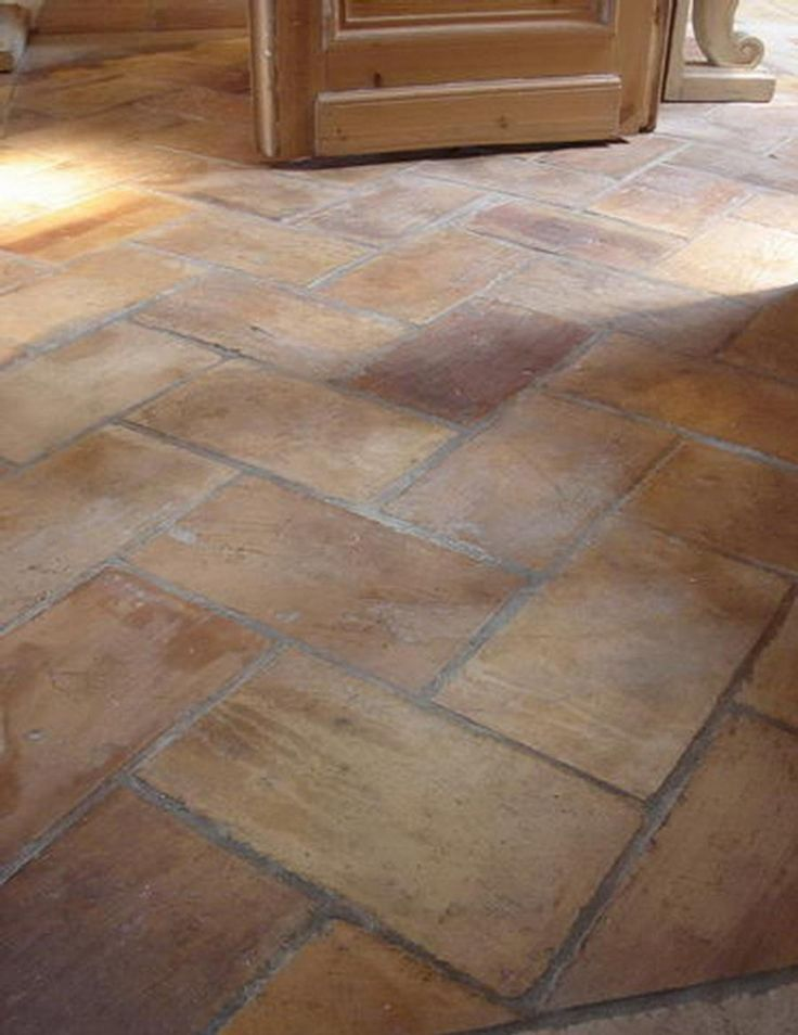 french terra cotta flooring patio flooringstone flooringflooring ideaskitchen - Cheap Kitchen Floor Ideas