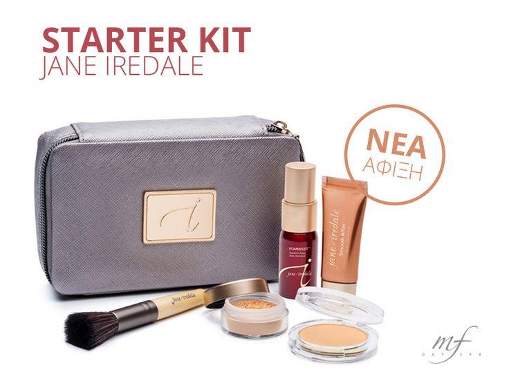 Νέα άφιξη στο eshop της MF DAY SPA: Jane Iredale! Ξεκινάμε με μοναδικό starter kit! #janeoredale #starterkit #makeup #beauty #cosmetics #mfdayspa #travel