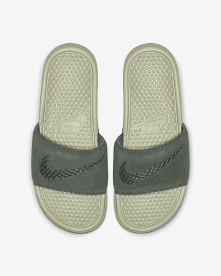 26a00d9fd Nike Benassi JDI Leather SE Women s Sandal. Nike.com
