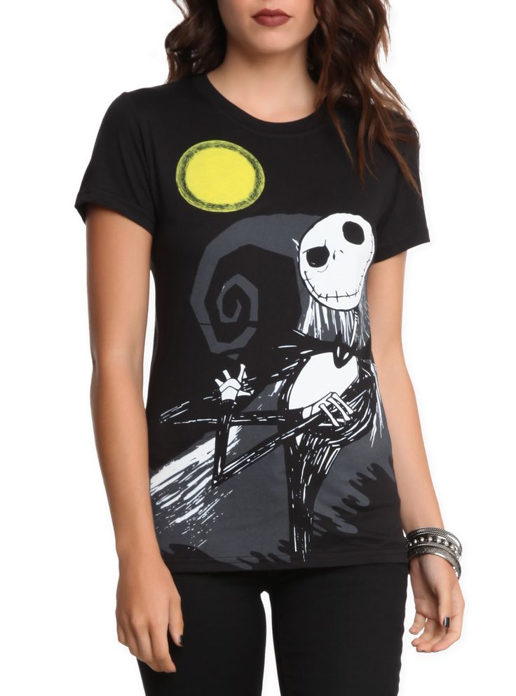 The Nightmare Before Christmas Now And Forever Girls T-Shirt