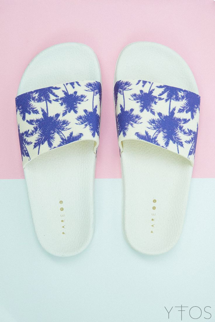 Yfos Online Shop | Shoes | Palm Slider Sandals by Pareoo