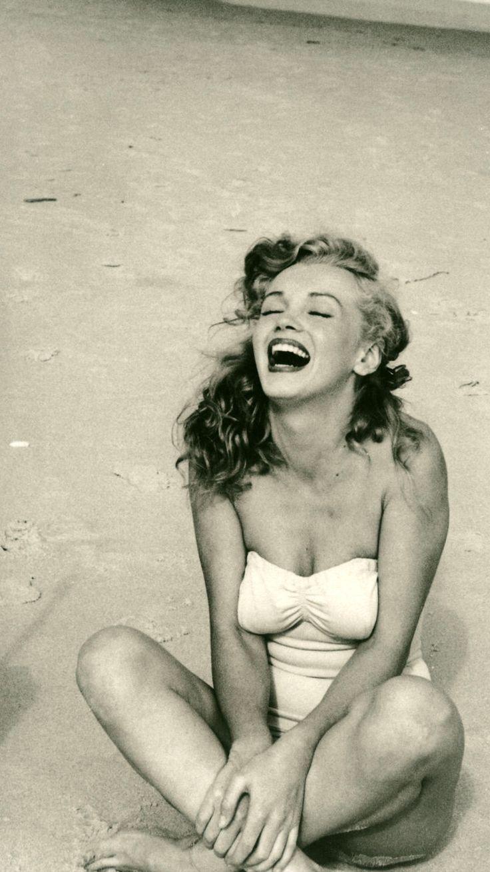 Vintage, Yoga, Photo, Marilyn Monroe, historical, rare, black & white, photography, history, 1948