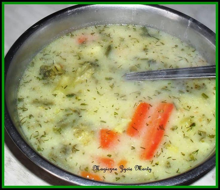 Magiczne życie Marty: Zupa brokułowa