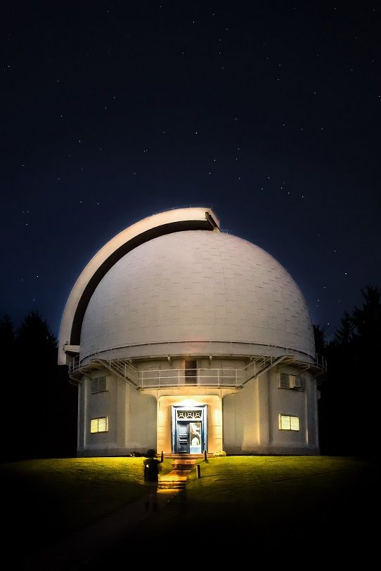 Welcome to the David Dunlap Observatory, Toronto