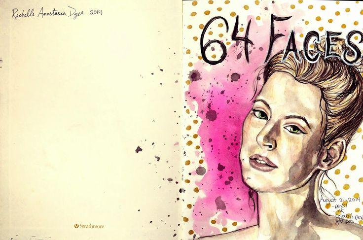 RAD Dance Art: 64 Faces, A new sketchbook