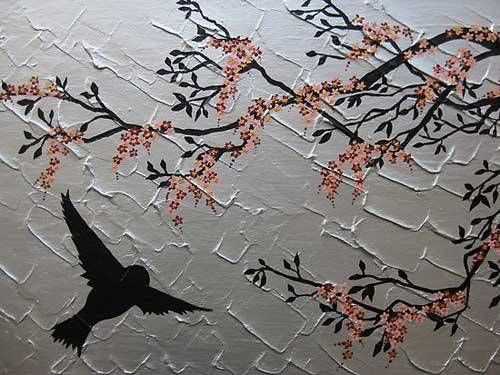 lukisan-bunga-sakura-cat-air.jpg (500×375)