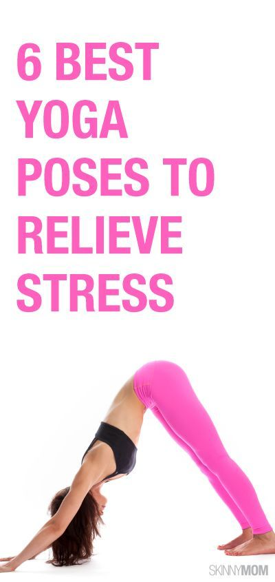 Relieve some stress with these 6 yoga moves!