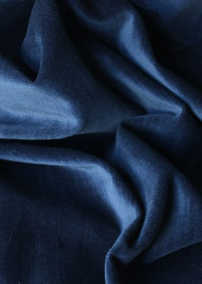 Velvet Fabric For Curtains Color Is Named Indigo This Ben S Favorite