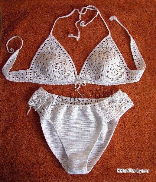 Veronica crochet y tricot...: bikinis