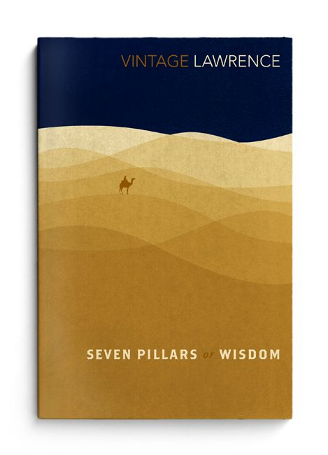 'Seven Pillars of Wisdom' Vintage UK book cover // The Heads of State