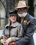 Yesterday I attended a great talk about vintage clothing at The Museum of The City of New York. The most gorgeous couple was seated in front of me and I knew that I had to take their photograph. When I leaned over and handed them my card, the gentleman smiled and turned to his wife. It turns out that he had given her my book... Read More