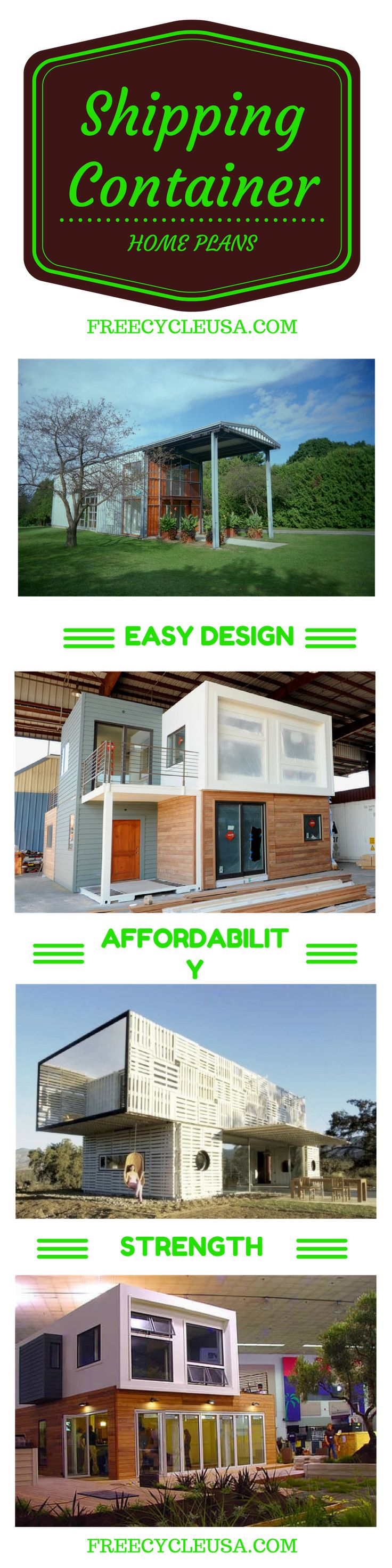 http://freecycleusa.com  How To Build A Shipping Container Home.