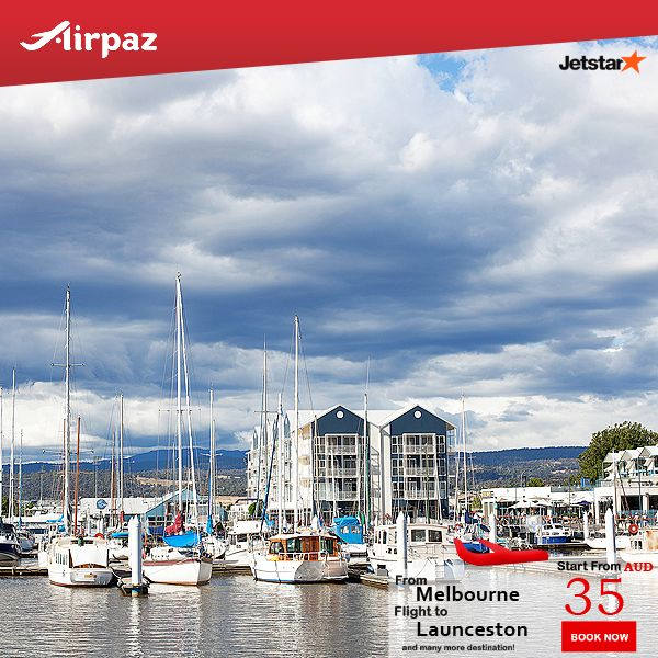 Flight from #Melbourne to #Launceston only for AUD $35 with #Jetstar's flights on #Airpaz Book Now : http://ow.ly/ryAl301K06Y  #CheapFlights #Promo #Jetstar #Airpaz #Travel #Australia #Backpacker #Holiday #Vacation #Trip #Backpacking #Sale