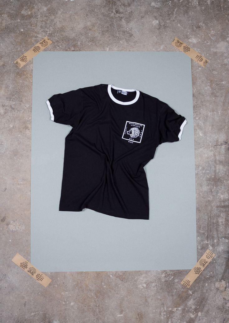 The Indian Pocket Ringer T-Shirt - Artwork by Luke Dixon  #thebearhug #bearhug #TBHCO  #streewear #lukedixon #lukedixonartist