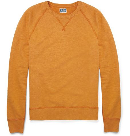 J.Crew Loopback Cotton-Jersey Sweatshirt | MR PORTER