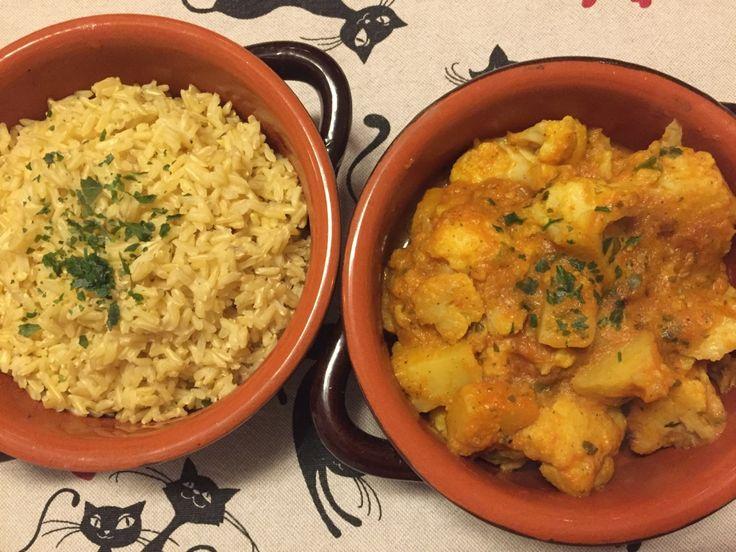 Aloo gobi – curry di cavolfiore e patate – Veganly.it – Ricette vegane dal web