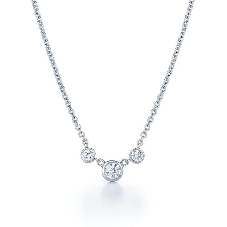 Alternate idea to reset my grandma's .50 carat diamond: use two other diamonds from other ring and make an everyday three stone necklace