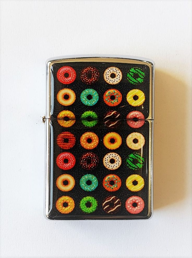 Sweet Donuts Colourful Flip Lighter Torch Lighter Gift For Friends