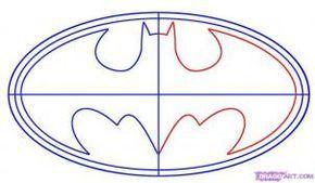 How to Draw Batman Logo, Step by Step, Dc Comics, Comics, FREE Online Drawing Tutorial, Added by Teton, November 30, 2007, 9:55:01 am