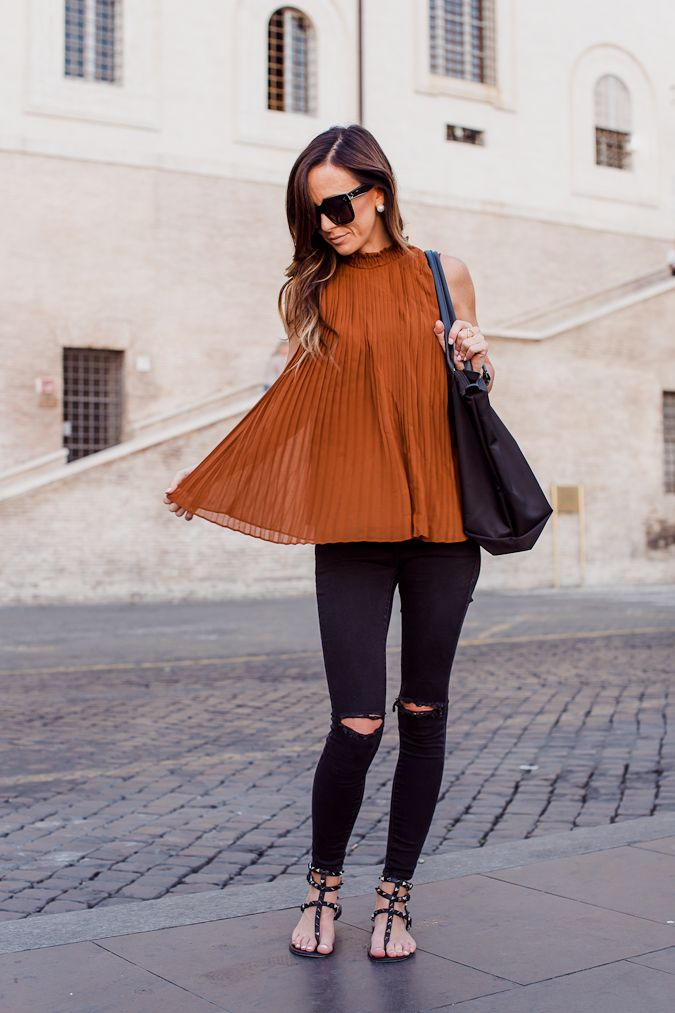 TRAVEL | SUNSET ON THE SPANISH STEPS + LABOR DAY SALES | Sequins & Things