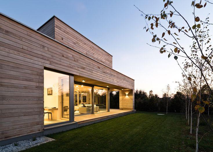 Cedar House By Pracownia Projektowa Mariusz Wrzeszcz, A Residential  Architecture Project In Poland Amazing Design