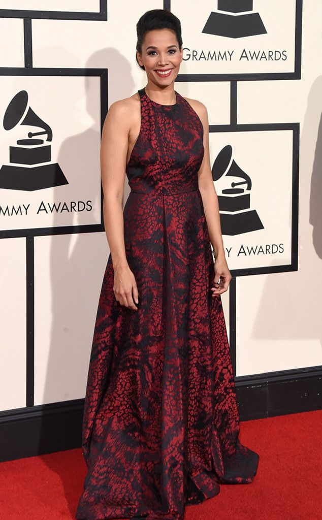 Rhiannon Giddens from Grammys 2016: Red Carpet Arrivals