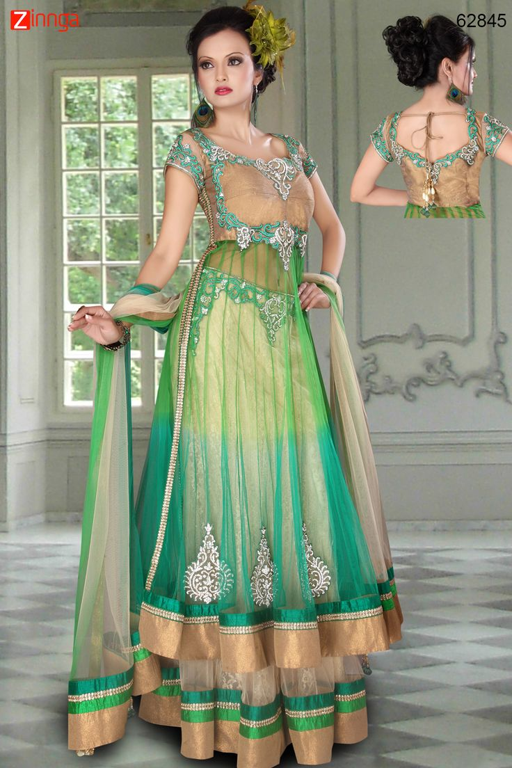 Net Fabric Gorgeous Lehenga Choli. Message/call/WhatsApp at +91-9246261661 or Visit www.zinnga.com