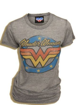Wonder Woman -- want this tshirt -- for lounging ;)