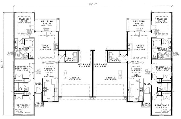 24 Best Images About Rental Plans On Pinterest House Plans Home Design And U Shaped Kitchen