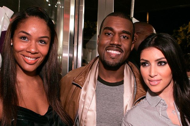 Reminder Kanye West Was Once Engaged To Someone Else Kanye Kanye West Kim
