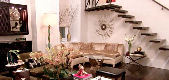 """Carole Radziwill's apartment from """"Real Housewives of New York"""""""