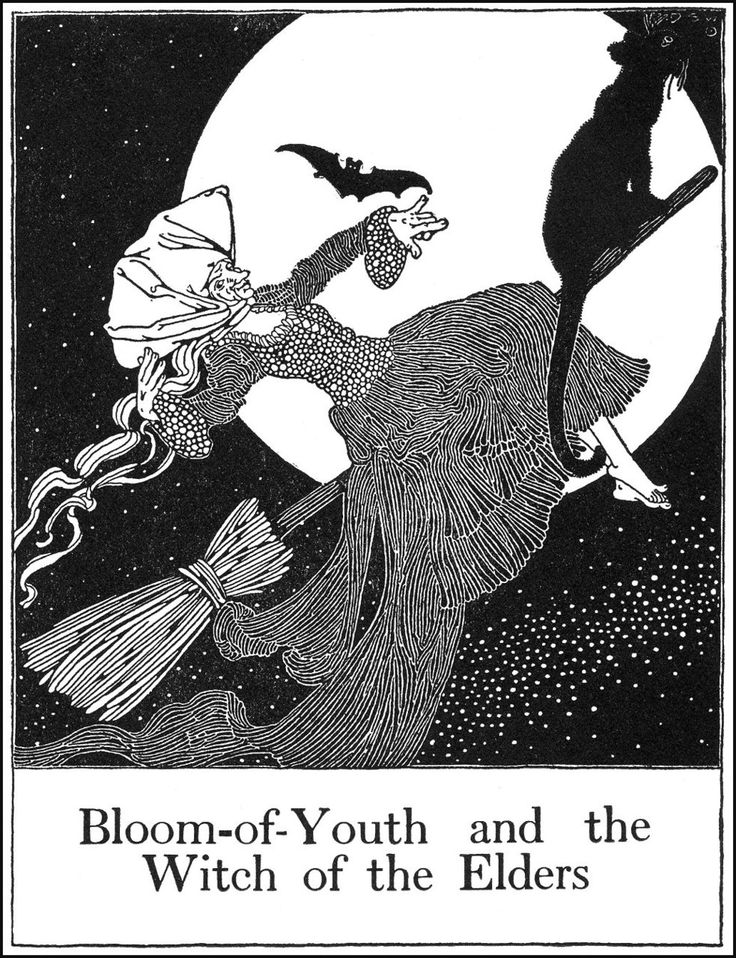 dugald stewart walker bloom of youth and the witch of the elders - Halloween History Witches